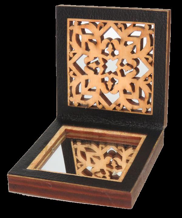 Cermin Muka Motif Geometri 1
